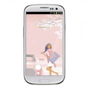 Smartphone Samsung GT-I9300 GALAXY SIII, White La Fleur