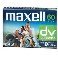 MAXELL miniDV cassette