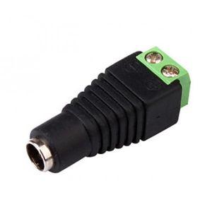 букса захранваща 5.5mm*2.1mm CCTV DC Power f