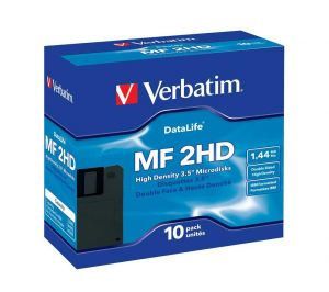 Дискети Verbatim DataLife 10 бр./опак.